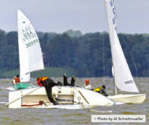 Learning to Capsize