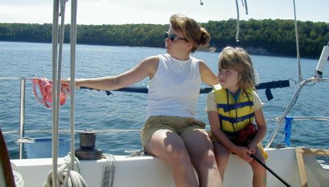 Making time to sail