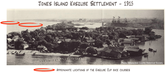 Jones Island Kaszube Settlement - 1915