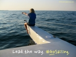 Lead the way. #GoSailing