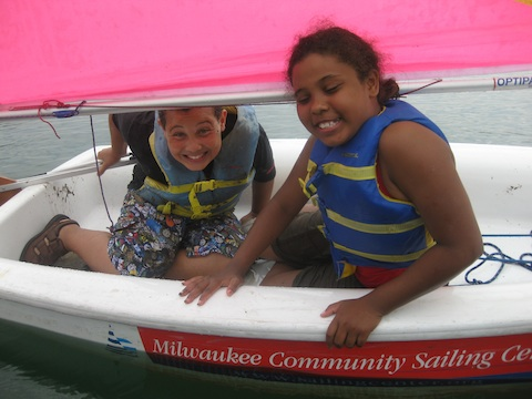 Milwaukee Community Sailing Center Prams in the Park