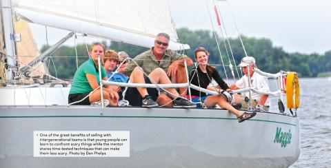 Spinsheet - Dan Phelps, family sailing, kids and sailing, saving sailing