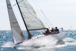 Sailing in waves: Photo courtesy Chris Gribble