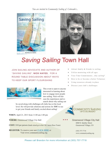 Saving Sailing Town Hall Meeting