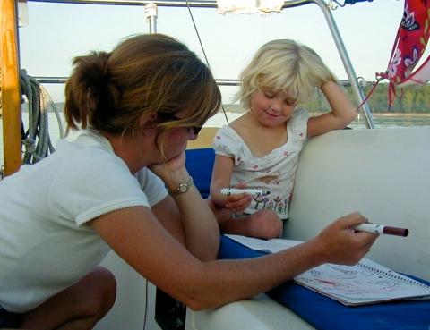 Sailing Moms