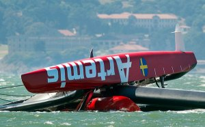 America's Cup Crash Kills