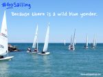 GoSailing because there is a wild blue yonder