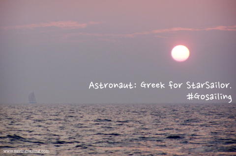 Astronaut Greek for StarSailor