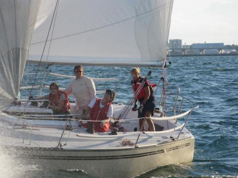 Adult Women Go Sailing