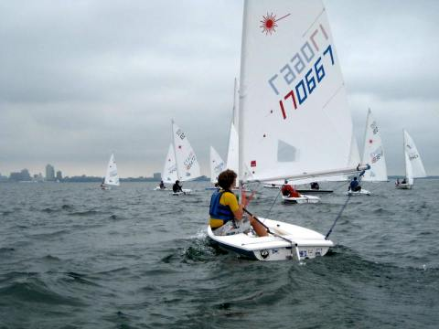 Sailing School Race